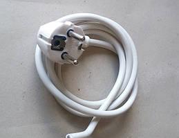 Провод шнур сетевой 1.3м с вилкой и заземлением 16А 220В