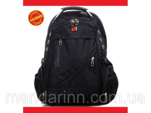 Подростковый рюкзак swissgear 8810М Чёрный