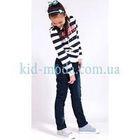 Джинсы зимние с контрастными карманами, фото 1