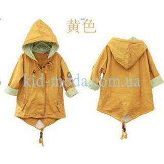 Ветровка-плащ с коротким рукавом для мальчика
