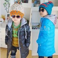 Куртка с трикотажным капюшоном для мальчика