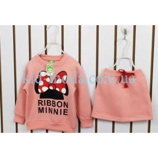 "Комплект ""Ribbon Minnie"" (юбка, кофта)"