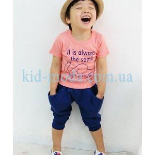 """Комплект для мальчика (штаны с принтом """"Звезды"""", футболка)"""