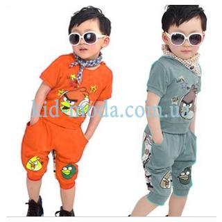 Комплект Angry Birds для хлопчика (шорти, футболка)