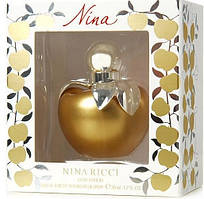 Женская туалетная вода Nina Ricci Nina Gold Edition (золотое яблоко в подарочной упаковке) 80 мл