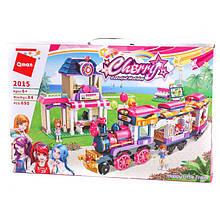 """Конструктор Brick(Qman) 2015 """"Щасливий потяг"""", 690 деталей"""