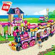 """Конструктор Brick(Qman) 2015 """"Счастливый поезд"""", 690 деталей, фото 3"""