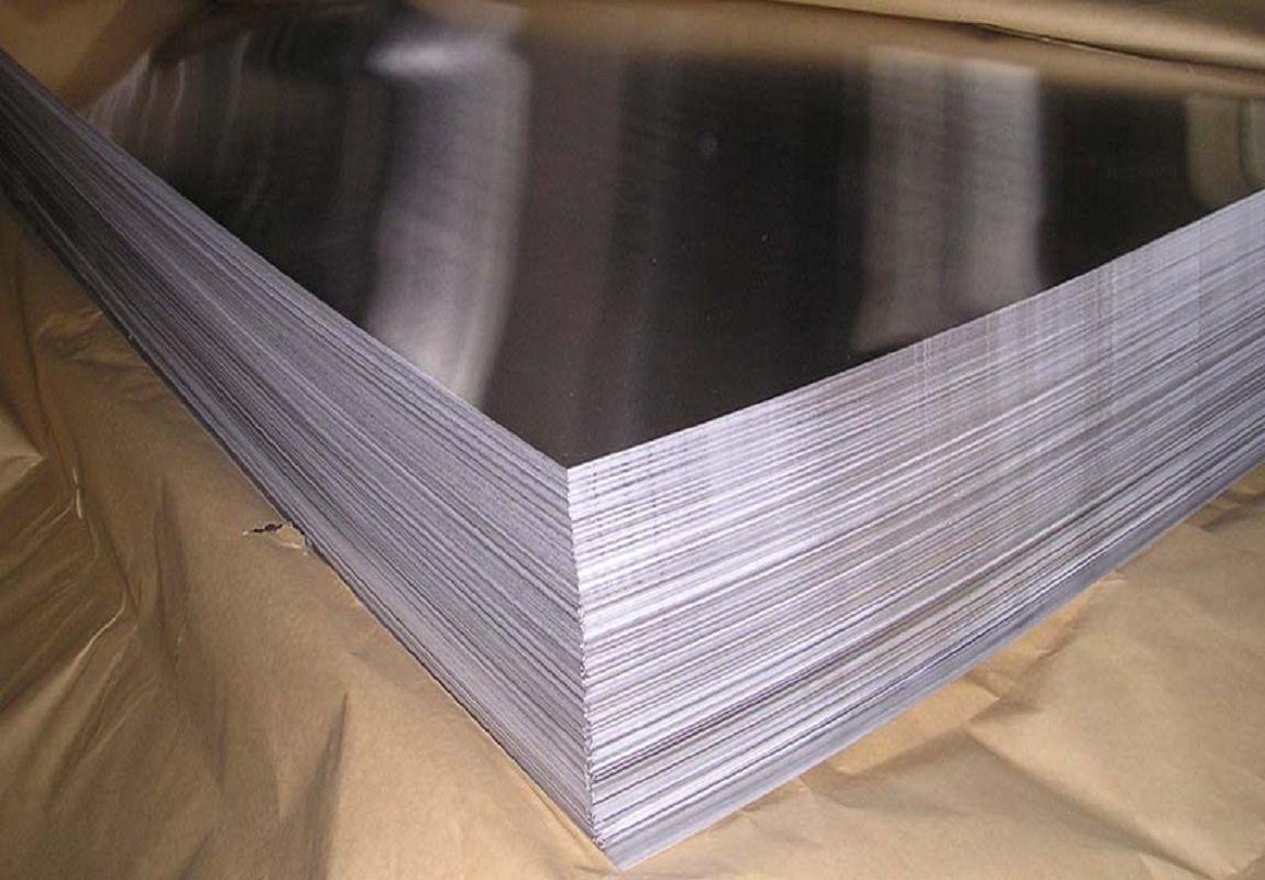 Лист нержавеющий AISI 316 0.6x1000x2000мм зеркальный