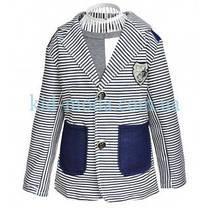 Пиджак в полосочку