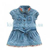 Платье джинсовое Guess с вышивкой на воротничке, фото 1