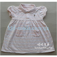 Платье Polo Ralph Lauren с рукавами-фонариками