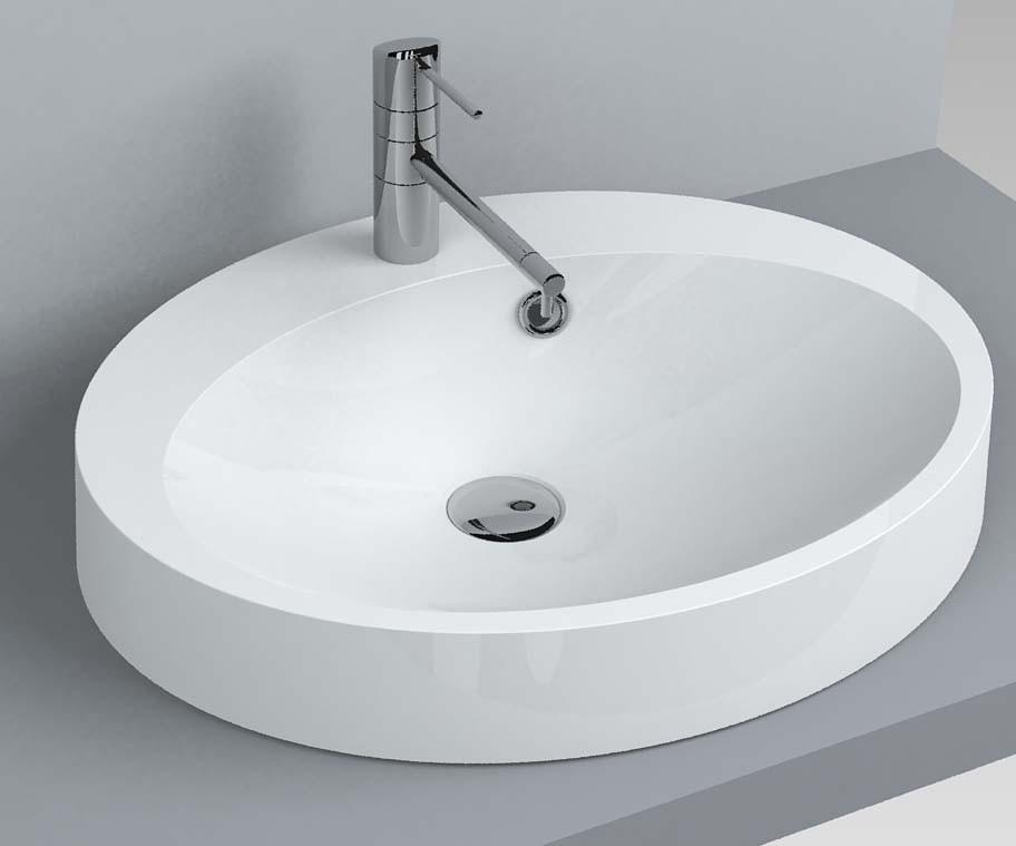 Умывальник для ванной комнаты Miraggio Devon 550