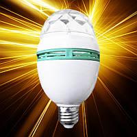 Светодиодная лампа Feron LB-800 3W RGB E27