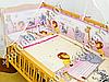Пододеяльник 105х145 см на одеяло в детскую кроватку. Цвета в ассортименте, фото 4