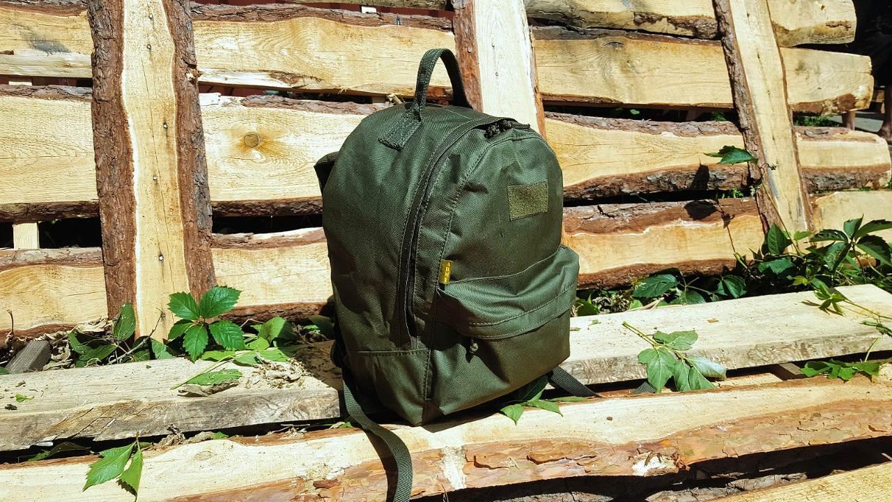 Городской рюкзак 20 литров  OUTDOOR для детей и подростков олива