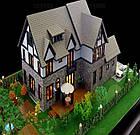 Коврики, имитация травы для макетов 25х25 см, темно-зеленый, фото 7