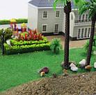 Коврики, имитация травы для макетов 25х25 см, темно-зеленый, фото 9
