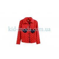 Рубашка в горошек для девочки, фото 1