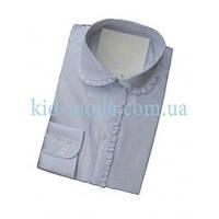 Рубашка с кружевным воротником и длинным рукавом, фото 1