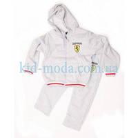 Костюм спортивный Ferrari (олимпийка, штаны), фото 1