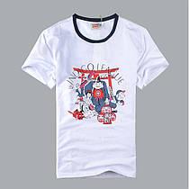 "Хлопковая футболка с принтом ""Будда Ти"" XXL"