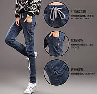 Модные джинсы на шнурках, фото 1