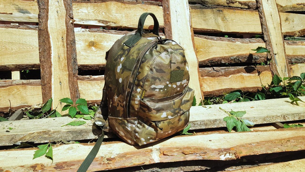 Городской рюкзак 20 литров  OUTDOOR для детей и подростков мультикам