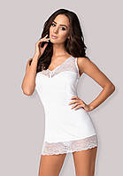Белая сорочка Miamor chemise Obsessive, фото 1