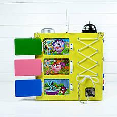Развивающая игрушка бизикуб Busy Cube Tornado Желтая, фото 3