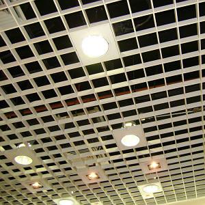 """потолки подвесные """"грильято"""""""