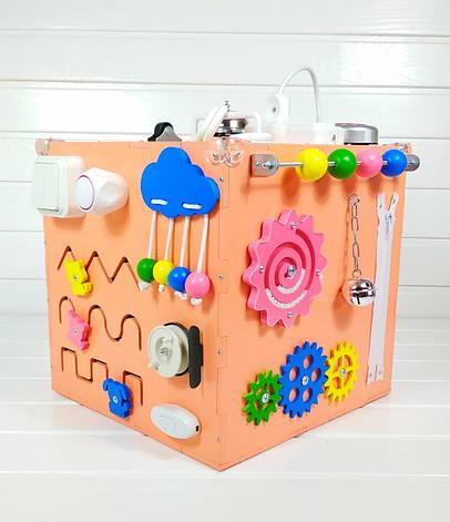 Развивающая игрушка бизикуб Busy Cube Tornado Оранжевая, фото 2