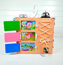Развивающая игрушка бизикуб Busy Cube Tornado Оранжевая, фото 3