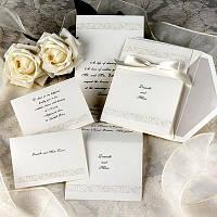 Свадебные приглашения и рассадочные карточки
