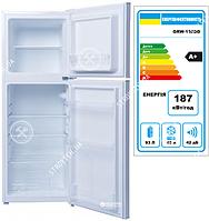 Холодильник GRUNHELM GRW-138DD(белый), двухкам., верхняя мороз.138 см