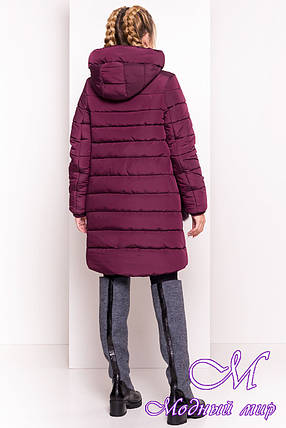 Женская зимняя куртка с мехом (р. XS, S, M, L) арт. Лили 3523 - 40488, фото 2