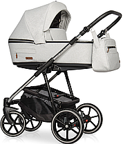 Детская универсальная коляска 2 в 1 Riko Swift Premium 14 Platinum