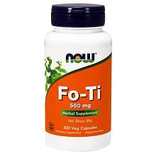 """Горец многоцветковый NOW Foods """"Fo-Ti"""" общеукрепляющее средство, 560 мг (100 капсул)"""
