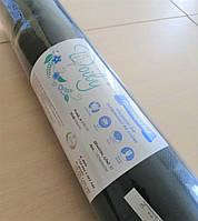 Простыни Doily 0,8х100 м (1 рул) из спанбонда 30 г / м2 Цвет: черный (4823098701828)