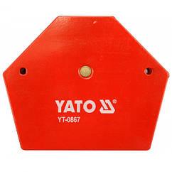 Магнитная струбцина 34 кг Yato YT-0867