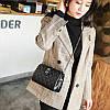 Женская сумка клатч черная из экокожи опт