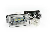 Подсветка номера LED Peugeot 206 207 308 407 пежо
