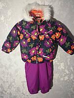 Зимний костюм для девочки Lenne (ленне)на рост 92+6.