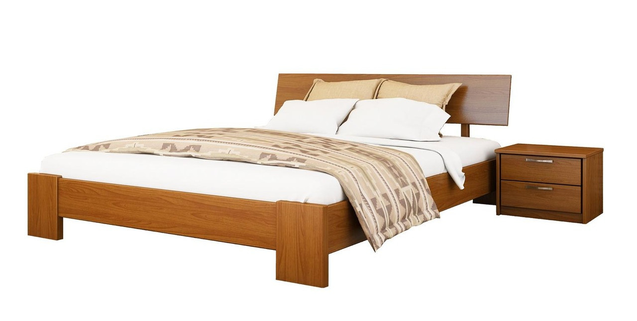 Ліжко Титан 120х190 Бук Щит 103 (Естелла-ТМ)
