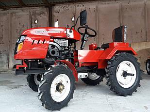 Мототрактор Crosser S-180 Red комплект фреза + плуг