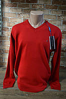 6008-Tommy Hilfiger мужской гольф/Красный., фото 1