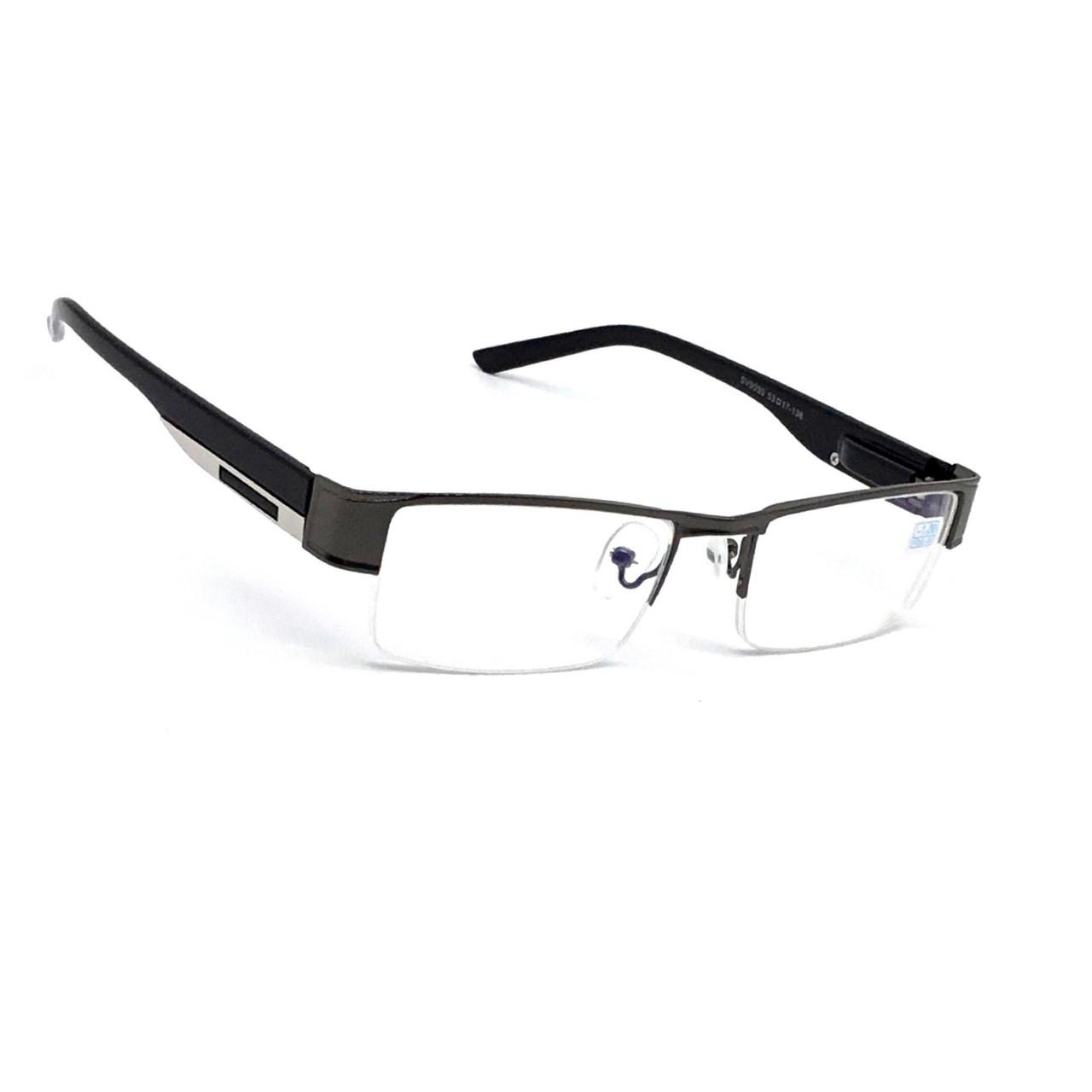 Полуоправные очки с бликовой линзой