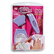 Манікюрний набір Salon Express Nail Art Stamping Kit (Набір для стемпінгу)