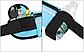 Спортивная сумка ремень на пояс для зала. Поясная сумка чехол для бега. Чехол для телефона, ключей и бутылки, фото 4
