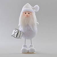 Дед Мороз декорированный серебром