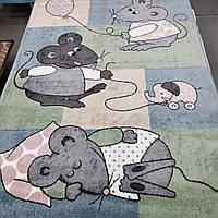 """Детский Коврик """"мышки"""" 1.33х1.90 м., фото 1"""